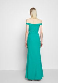 WAL G. - OFF THE SHOULDER DRESS - Galajurk - teal - 2