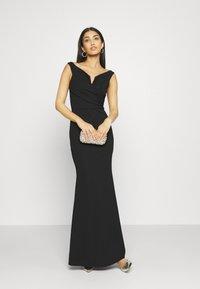 WAL G. - OFF THE SHOULDER DRESS - Vestido de fiesta - black - 1