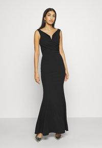 WAL G. - OFF THE SHOULDER DRESS - Vestido de fiesta - black - 0
