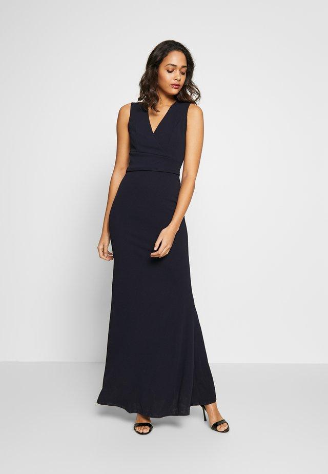 PLUNGE MAXI DRESS - Maxi šaty - navy blue