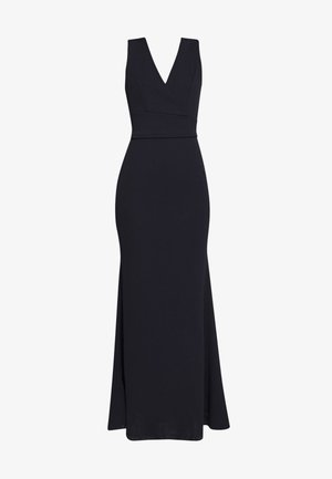 PLUNGE MAXI DRESS - Vestido largo - navy blue