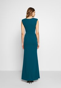 WAL G. - FITTED V KNECK MAXI - Galajurk - teal - 2