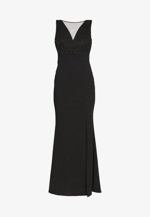 INSERT MAXI DRESS - Maxi-jurk - black