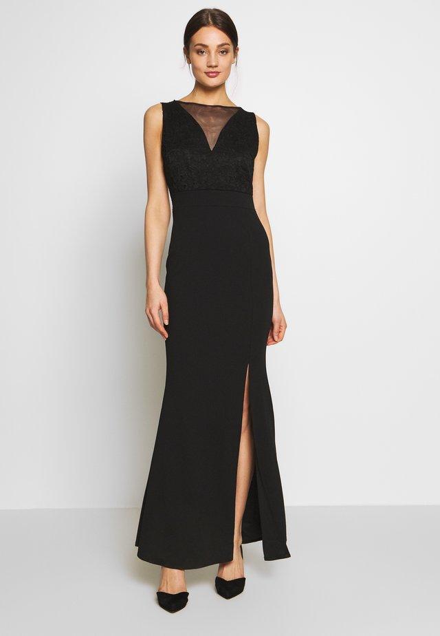 INSERT MAXI DRESS - Vestito lungo - black