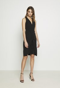 WAL G. - MIDI DRESS - Shift dress - black - 6