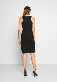 WAL G. - MIDI DRESS - Shift dress - black - 2