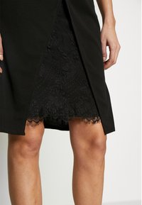 WAL G. - MIDI DRESS - Shift dress - black - 3