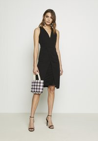WAL G. - MIDI DRESS - Shift dress - black - 4