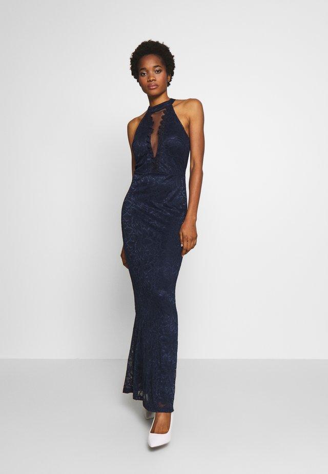 HALTER NECK - Společenské šaty - navy blue