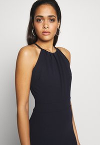 WAL G. - HIGH NECK MAXI WITH TRAIL - Ballkjole - navy blue - 4