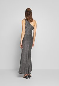 WAL G. - RUCHED ONE SHOULDER DRESS - Occasion wear - silver - 2