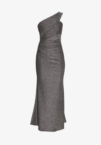 WAL G. - RUCHED ONE SHOULDER DRESS - Vestido de fiesta - silver - 3