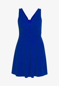 WAL G. - PLEATED SKATER DRESS - Jerseykleid - cobalt blue - 3
