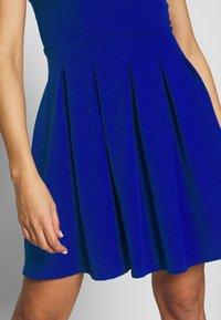 WAL G. - PLEATED SKATER DRESS - Jerseykleid - cobalt blue - 4