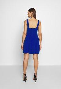 WAL G. - PLEATED SKATER DRESS - Jerseykleid - cobalt blue - 2