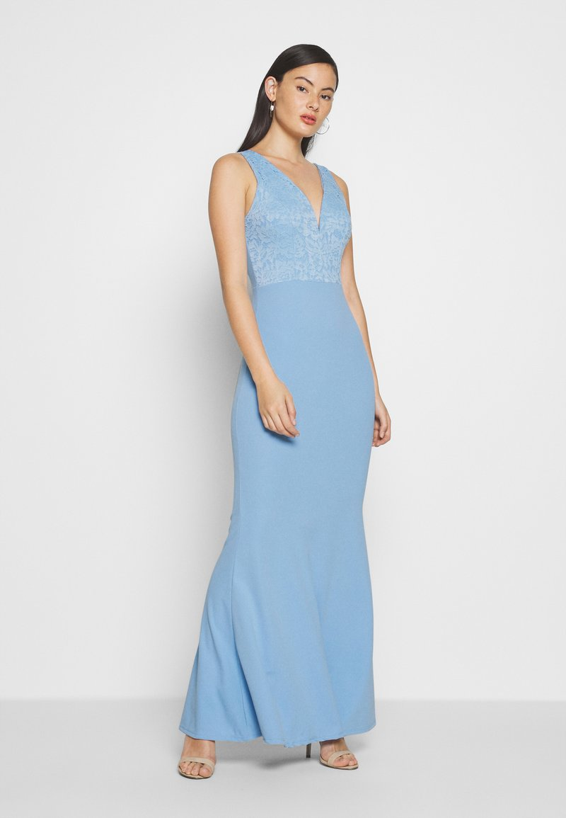 WAL G. - MAXI DRESS - Vestido de fiesta - pale blue