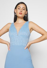 WAL G. - MAXI DRESS - Vestido de fiesta - pale blue - 3