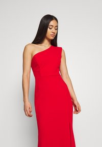 WAL G. - ONE SHOULDER MAXI DRESS - Occasion wear - red - 5