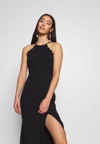 WAL G. - HALTER NECK MAXI DRESS - Abito da sera - black - 3