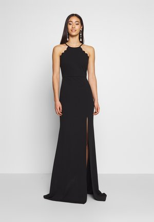 HALTER NECK MAXI DRESS - Vestido de fiesta - black