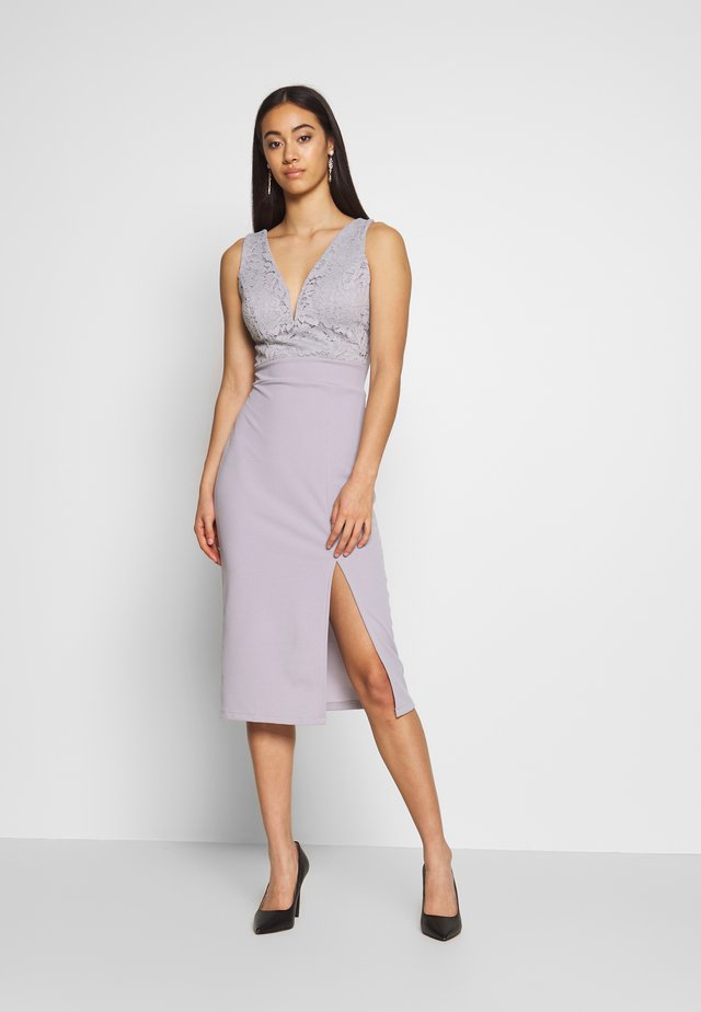 MIDI DRES - Shift dress - lilac