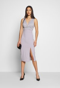 WAL G. - MIDI DRES - Shift dress - lilac - 1