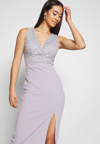 WAL G. - MIDI DRES - Shift dress - lilac - 3