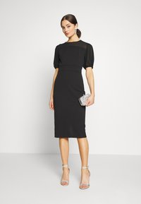 WAL G. - MIDI DRESS - Sukienka koktajlowa - black