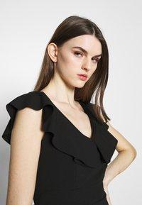 WAL G. - FRILL NECK DRESS - Occasion wear - black - 3