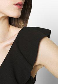 WAL G. - FRILL NECK DRESS - Occasion wear - black - 5