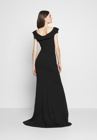 WAL G. - FRILL NECK DRESS - Occasion wear - black - 2