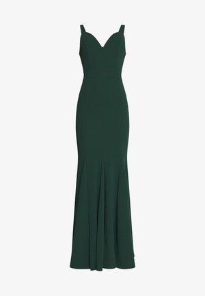 PLEATED MAXI DRESS - Vestido de fiesta - forest green