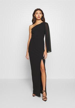 FLARE SLEEVE MAXI DRESS - Suknia balowa - black