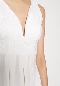 WAL G. - TOP MINI DRESS - Day dress - white - 4