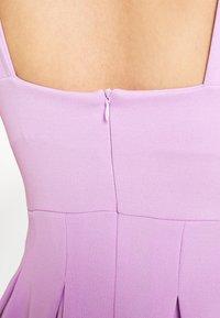 WAL G. - TOP MINI DRESS - Jersey dress - lilac - 5