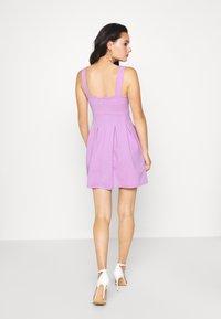 WAL G. - TOP MINI DRESS - Jersey dress - lilac - 2