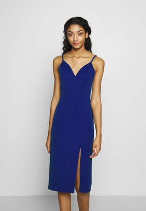 STRAPPY MIDI DRESS - Juhlamekko - electric blue