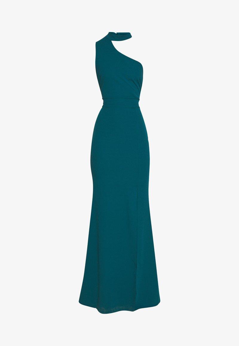 WAL G. HALTER NECK WITH STRAP DRESS - Ballkjole - teal blue