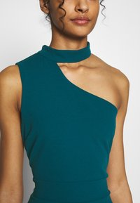 WAL G. - HALTER NECK WITH STRAP DRESS - Vestido de fiesta - teal blue - 5
