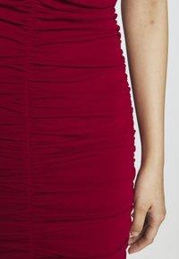 WAL G. - RUCHED STRAPPY DRESS - Sukienka koktajlowa - red - 5