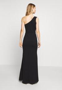 WAL G. - ONE SHOULDER MAXI DRESS - Společenské šaty - black - 2