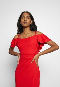 WAL G. - FRILL SLEEVE MAXI DRESS - Occasion wear - coral - 3