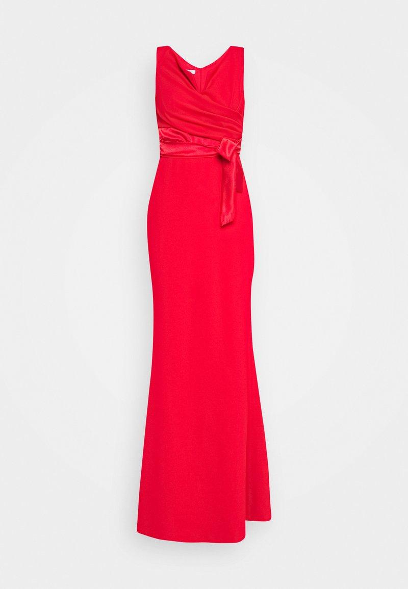 WAL G. - BARDOT BAND DRESS - Vestido de fiesta - red