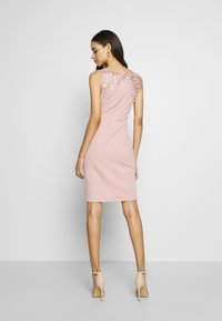 WAL G. - LACE DETAIL MIDI DRESS - Cocktailkjole - blush pink - 2