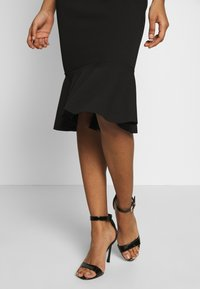 WAL G. - BARDOT FRILL HEM DRESS - Cocktailkjole - black - 3