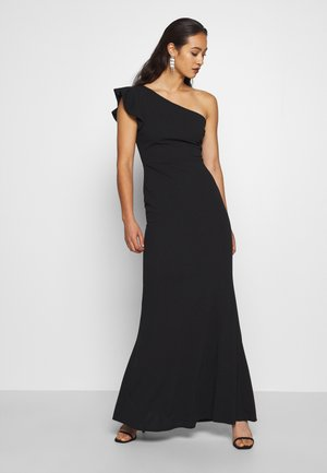 ONE SHOULDER DRESS - Abito da sera - black