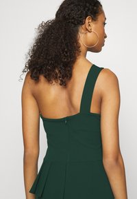 WAL G. - ONE SHOULDER DRESS - Occasion wear - forest green - 4