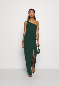 WAL G. - ONE SHOULDER DRESS - Occasion wear - forest green - 1
