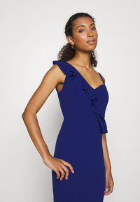 WAL G. - FRILL DETAIL DRESS - Vestido de fiesta - cobalt blue - 5