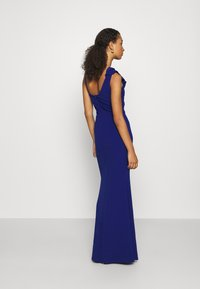 WAL G. - FRILL DETAIL DRESS - Vestido de fiesta - cobalt blue - 2